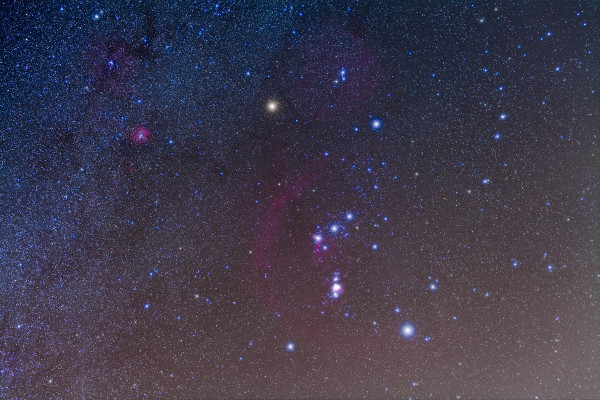Image credit: Alan Dyer of http://amazingsky.net/2011/02/21/fuzzy-constellations/.