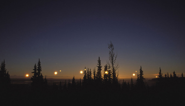 Image credit: Ken Tape, of the Winter Solstice at Fairbanks, Alaska.