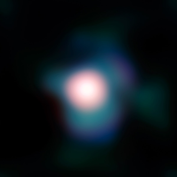 Image credit: ESO/P. Kervella, of Betelgeuse as seen today, at the highest resolution ever observed. Via http://www.eso.org/public/images/eso0927b/.