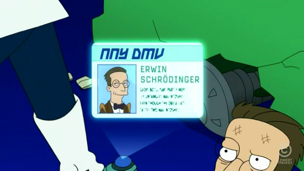 Image from Futurama, Courtesy of theinfosphere.org.