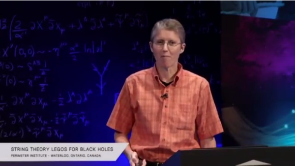 Image credit: screenshot from the perimeter institute live stream.