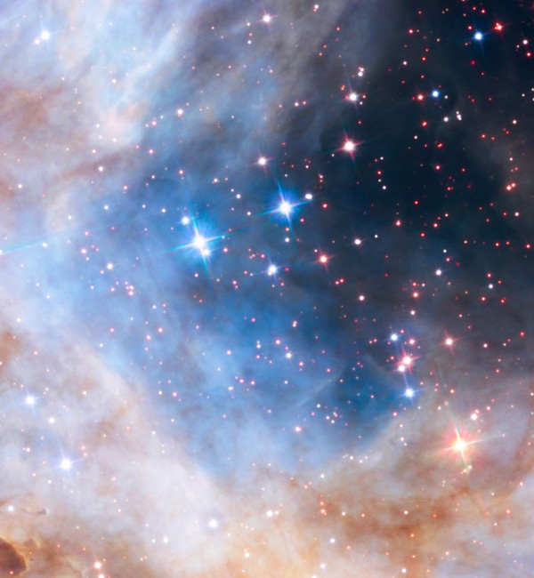 Image credit: NASA, ESA, the Hubble Heritage Team (STScI/AURA), A. Nota (ESA/STScI), and the Westerlund 2 Science Team.