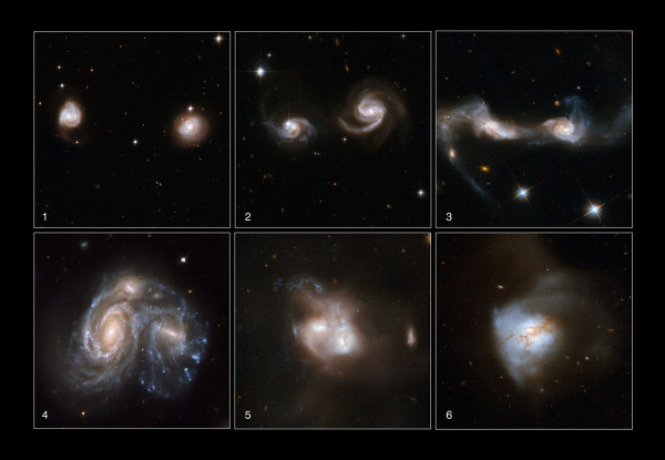 Image credit: NASA, ESA, the Hubble Heritage Team (STScI/AURA)-ESA/Hubble Collaboration and A. Evans (University of Virginia, Charlottesville/NRAO/Stony Brook University), K. Noll (STScI), and J. Westphal (Caltech).