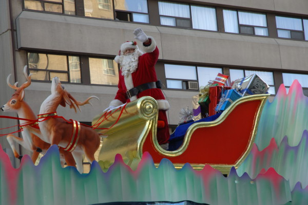 Image credit: Wikimedia Commons user Glogger, of the Santa Claus parade in Toronto, 2007.