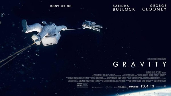 Image credit: Warner Bros. Pictures / Alfonso Cuarón, of the poster for the movie Gravity.