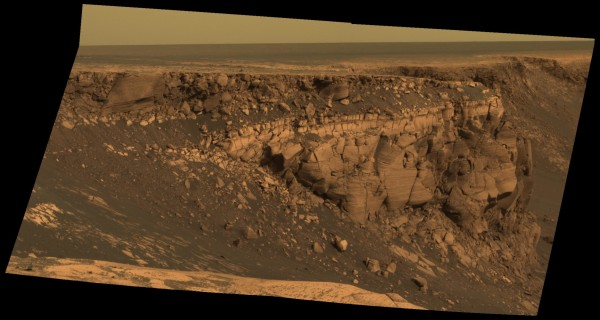 Image credit: NASA / JPL / Mars Exploration Rover, Opportunity.