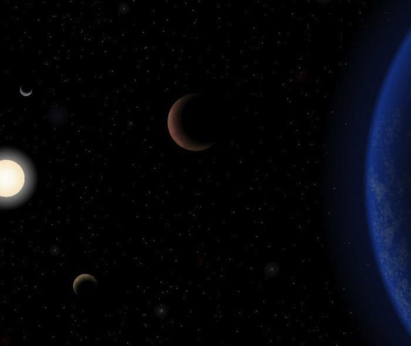 Planets with the same mass and radius as Earth, even in a star's habitable zone, could have vastly different properties today. Image credit: J. Pinfield / RoPACS network / University of Hertfordshire.