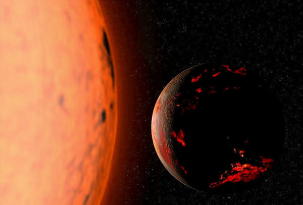 The Earth, if calculations are correct, should not be engulfed by the Sun when it swells into a red giant. It should, however, become very, very hot. Image credit: Wikimedia Commons user Fsgregs.