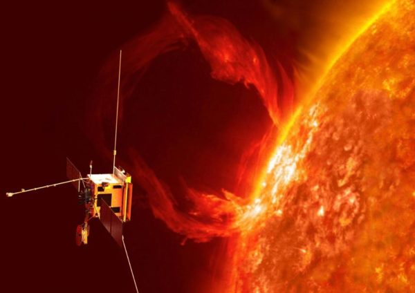 Solar orbiters are great ways for studying the Sun, and are part of how we've learned so much about our Solar System's greatest natural energy source. Image credit: ESA, via http://www.esa.int/Our_Activities/Space_Science/Solar_Orbiter.