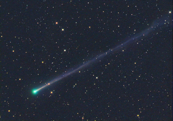 Comet 45P/Honda-Mrkos-Pajdusakova, as imaged during its last (2011) pass near Earth. Image credit: Tim Puckett.
