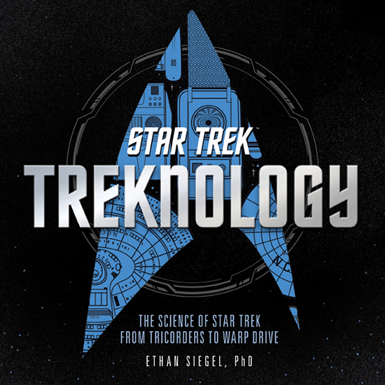 Book cover for my new book: Treknology. Image credit: Voyageur Press / Quarto Publishing Group.