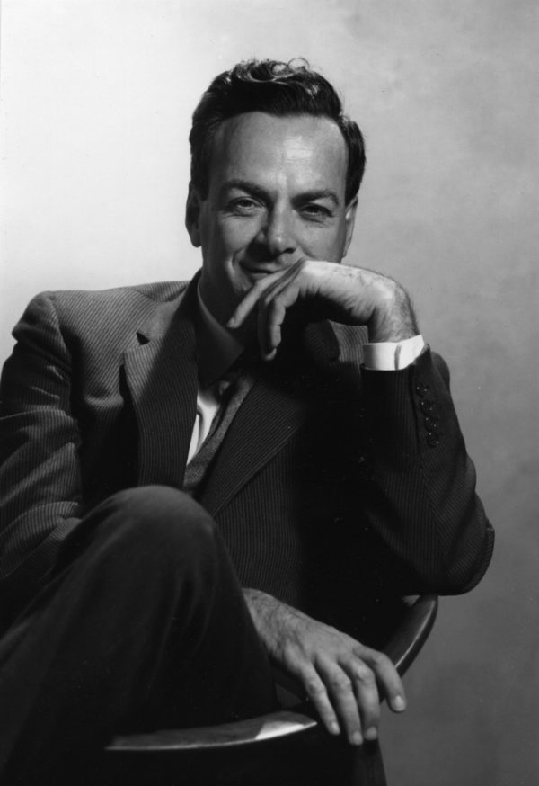 Richard Feynman, at approximately the age he was during the 1957 conference. Image credit: Caltech.