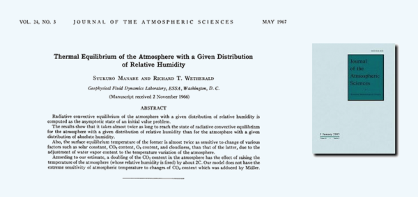 The most seminal paper in climate change history? Perhaps!