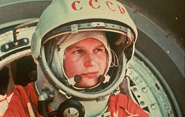 Valentina Tereshkova, just prior to her launch aboard Vostok 6 in 1963. Image credit: Science Source/Photo Researchers, Inc.