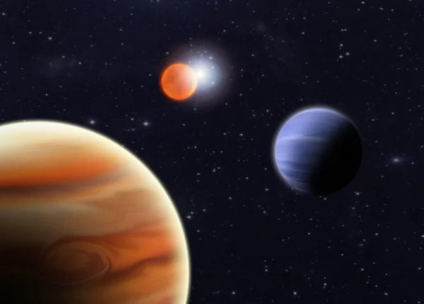 Binary stars with planets around them are common, but if the world containing Westeros orbited a binary planet, particularly if those planets were much more massive than it itself, physics can give us the orbits we need. Image credit: Stuart Littlefair / University of Sheffield.