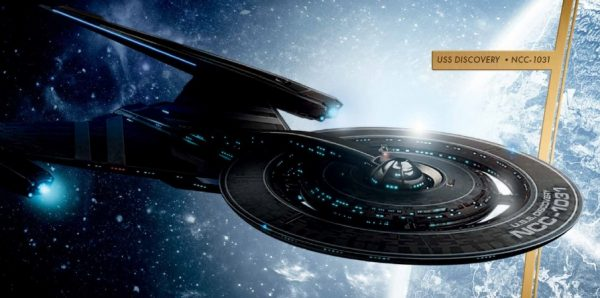 The USS Discovery, NCC-1031, is perhaps a very thinly-veiled reference to Star Trek's 'Section 31,' and things could get a lot darker before anyone goes back to being an explorer. Image credit: Star Trek / CBS Press Kit.